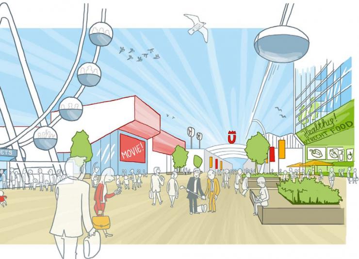 Ambitious transformation plans Utrecht Beurskwartier